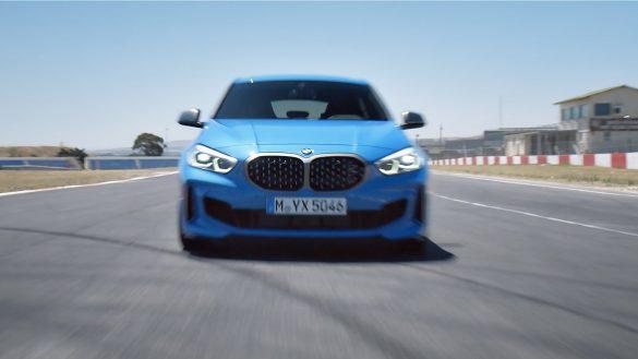 BMW 1er Front auf Rennstrecke