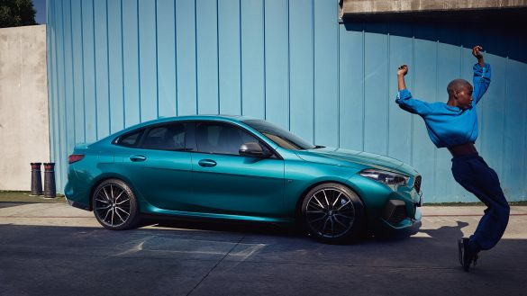 BMW 2er Gran Coupé von rechts