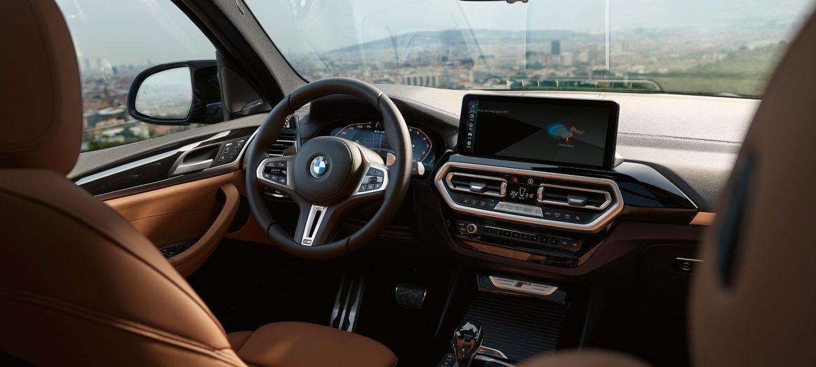 BMW X3 M40i G01 LCI Facelift 2021 Cockpit