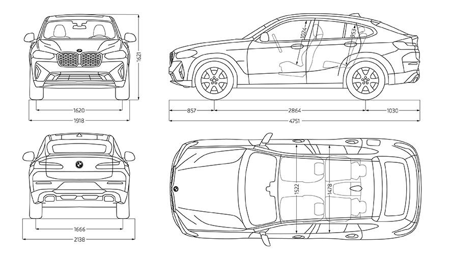 Technische Daten BMW X4