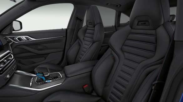 M Sportsitze BMW i4 M50 G26 2021 Innenraum Cockpit